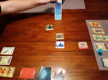 Barely managed a victory at Forbidden Island on Sunday night.
