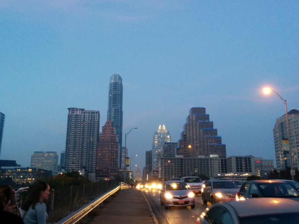 The Austin Skyline from South Congress.