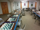 Tournament room downstairs