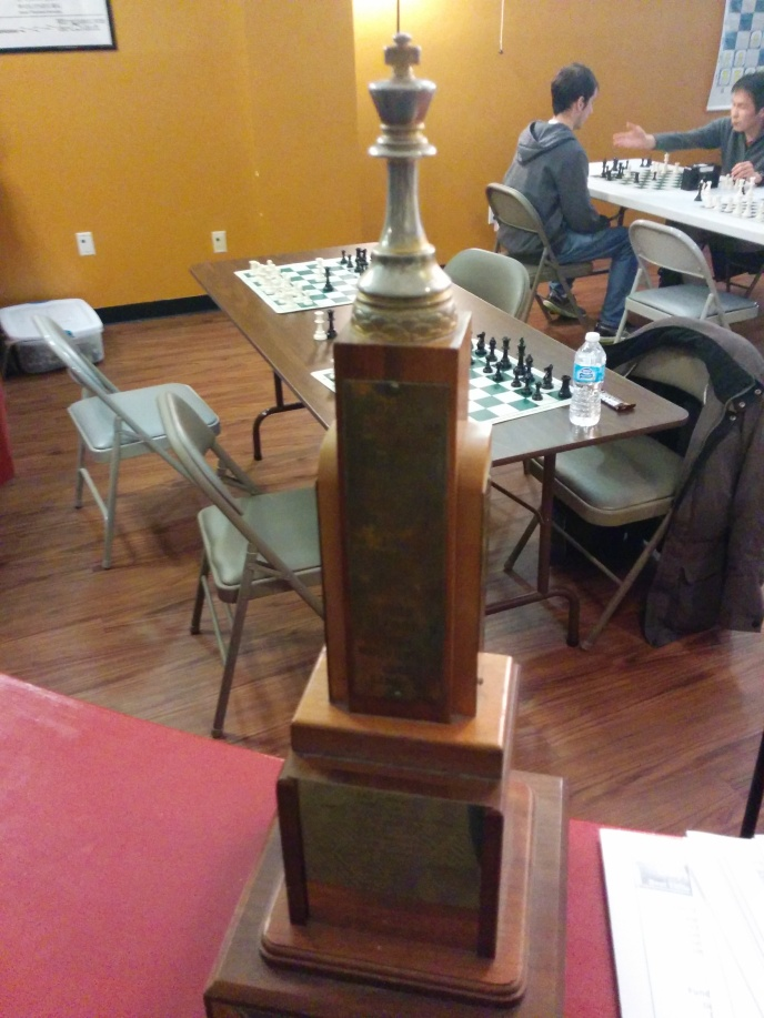 The club trophy, in use since 1959