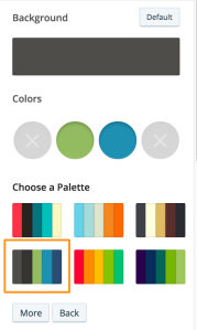 Theme doesn't need all the colors? Even better.