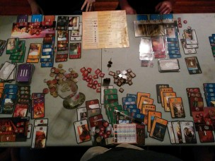 7 Wonders with Leaders and Cities expansions