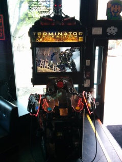 Terminator Salvation arcade game