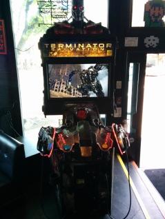 Terminator Salvation arcade game