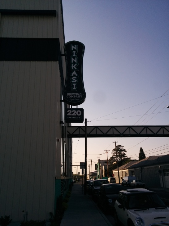 A brief detour to the Ninkasi Brewery building