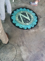Ninkasi Brewing Company on the floor of the tasting room