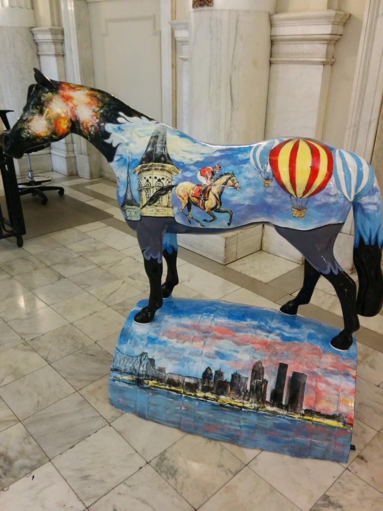 louisville free public library Gallopalooza horse