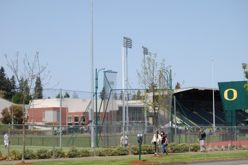 Hayward Field and Hammer field