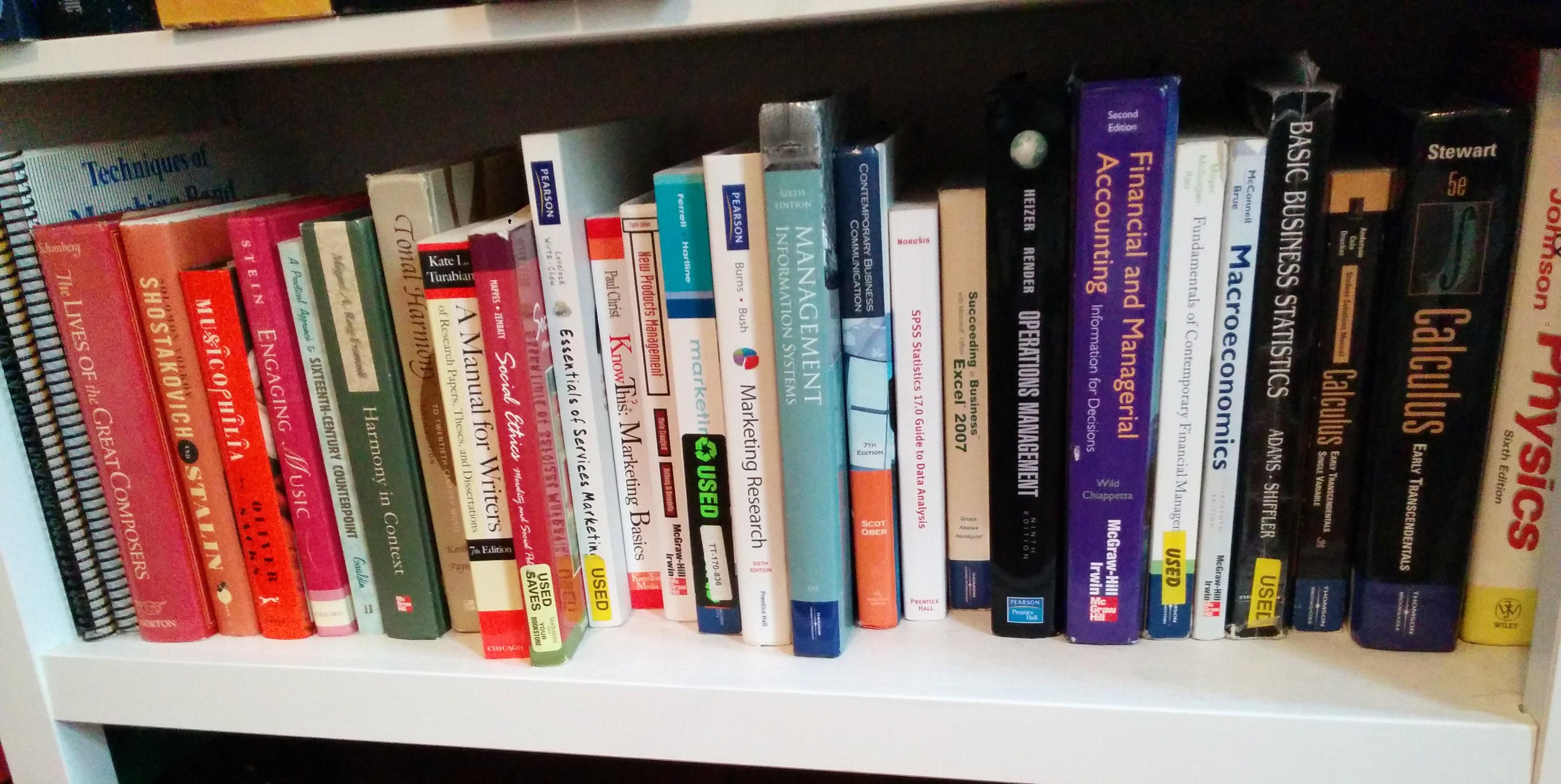 The Bottom Bookshelf Alex Gustafson