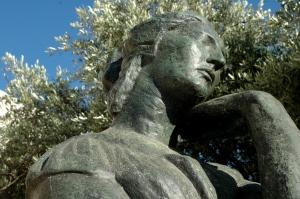 Penelope, bronze by Emile-Antoine Bourdelle