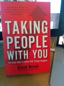 Hardcover of Taking People With You by David Novak