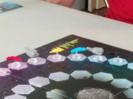 All clumped up in Gravwell, a moment where bluffing and readin g other people can really pay off.