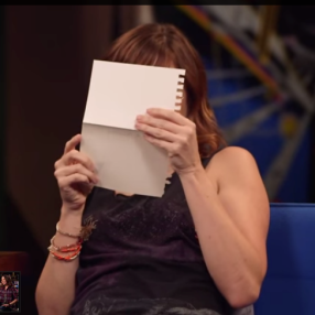alison-haislip-reading-a-note-on-titansgrave
