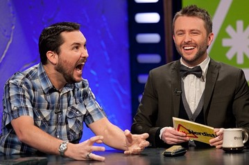 Wil Wheaton and Chris Hardwick