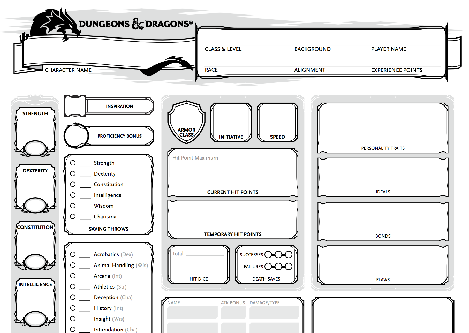 image relating to Pathfinder Printable Character Sheet identified as pathfinder Alex Gustafson