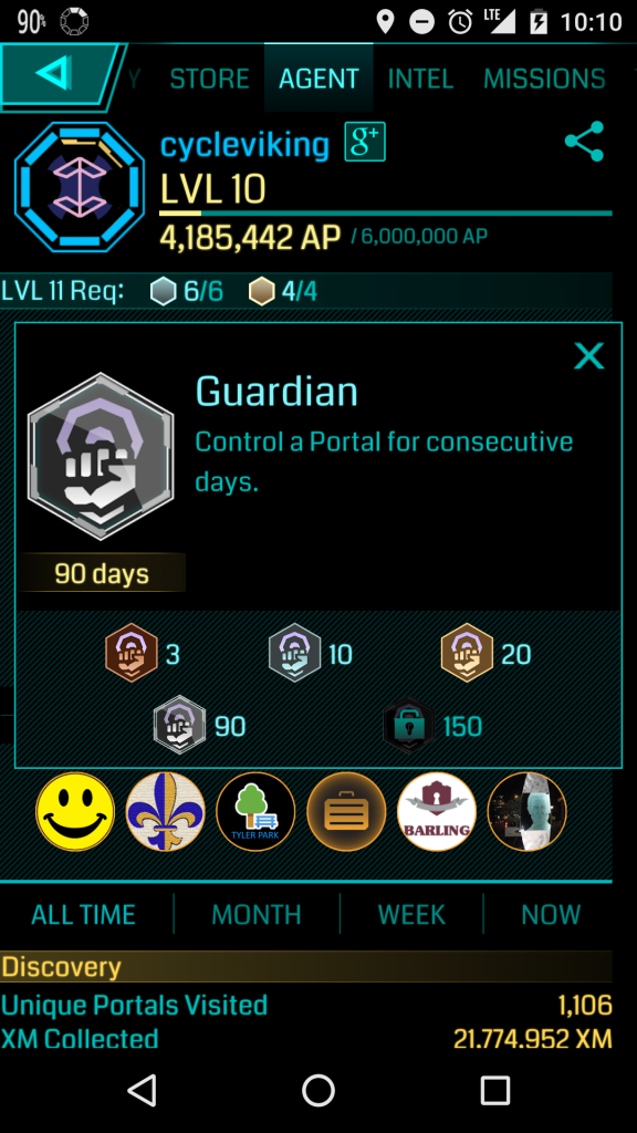 Platinum Guardian Badge