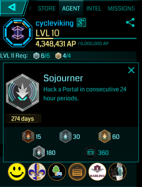 soujourner badge